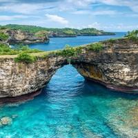 巴厘島 藍夢島+佩妮達島2天1晚跟團游(宿花園/海景酒店 含4餐)