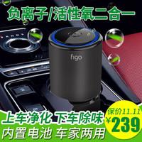 Figo 負離子臭氧2合1車載空氣凈化器