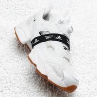adidas 阿迪达斯&Reebok联名 INSTAPUMP FURY BOOST 充气运动鞋