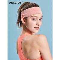 伯希和運動發帶男女頭戴止汗帶健身瑜伽跑步導汗運動頭巾吸汗束帶