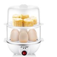 Peskoe 半球 多功能煮蛋器 兩層 白色