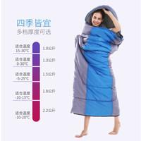 沙漠駱駝 戶外睡袋成人春秋冬季保暖睡袋 加寬露營