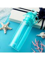 物生物噴霧隨手杯女便攜創意水杯子夏天學生家用兒童塑料運動水壺580ml