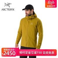 Arcteryx始祖鳥男戶外軟殼衣輕質耐磨保暖通風帶帽外套 Gamma LT
