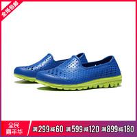 Skechers斯凱奇男大童涼鞋新款藍色時尚輕便低幫運動鞋92165L