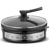 榮事達電餅鐺家用加深加大款電餅檔雙面加熱烙餅鍋稱煎餅鍋機煎鍋