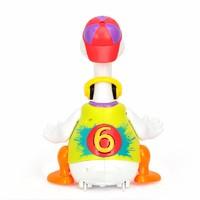 11日0點 : 匯樂玩具電動搖擺鵝828藍色/紅色/黃色會唱歌跳舞玩具