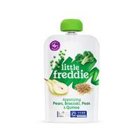 小皮歐洲原裝進口藜麥豌豆西蘭花谷物蔬菜泥100g*1袋 寶寶營養輔食泥休閑健康零食 *7件