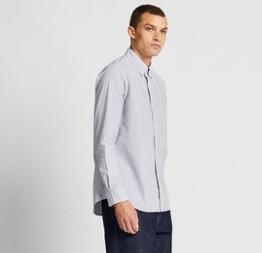 UNIQLO 优衣库 419014 男款优质长绒棉衬衫