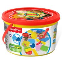 京東PLUS會員 : Fisher-Price 費雪 FPP019 手工彩泥 趣味彩泥桶 *4件
