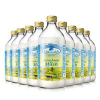 德質 德國進口牛奶脫脂純牛奶高鈣含量490ml* 9瓶/箱 保質期至20年1月