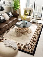 歐式地毯臥室床邊毯ins網紅同款家用大面積客廳茶幾墊現代簡約