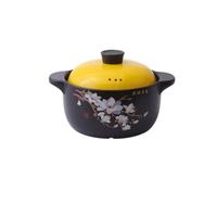 雙耳陶瓷砂鍋   4L