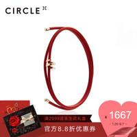 CIRCLE RASEN系列 9K金黃手鏈手鐲