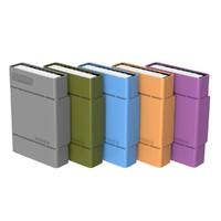 3.5寸移動硬盤保護盒收納包帶標簽套sata臺式硬盤pp防震包