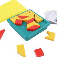 七巧板拼圖兒童桌游訓練專注力男女孩寶寶早教親子互動益智力玩具
