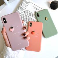 GGUU iPhonex手機殼立體水果
