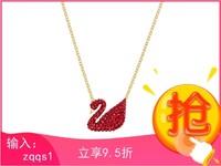 Swarovski 施華洛世奇 5465400 限量款 Iconic Swan紅天鵝項鏈