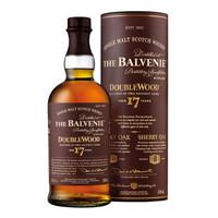 蘇格蘭百富(The Balvenie)洋酒  百富17年 雙桶陳釀單一麥芽蘇格蘭威士忌700ml