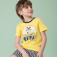 水孩兒 男童T恤短袖T恤