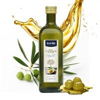 r意大利原裝進口 辣西西里 特級初榨橄欖油孕婦兒童食用油 1L瓶 *4件