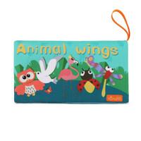 兔媽媽 嬰兒玩具飛行動物布書 *3件