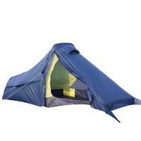 EUSEBIO戶外單人帳篷鋁桿超輕防暴雨專業野外露營雙層1人騎行帳篷