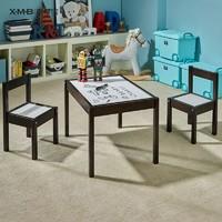 X.M.B 喜夢寶 學習桌椅套裝 一桌二椅