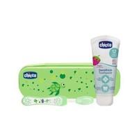 Chicco 智高 口腔护理套装 (牙膏+牙刷)