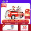 PAW PATROL 汪汪隊立大功 狗狗巡邏隊場景套裝 毛毛消防車-1輛(多種聲效+一鍵變形) 兒童玩具