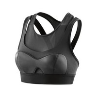 思金斯(skins)A400系列女款運動背心 女式帶內襯運動文胸 黑色 XS *3件