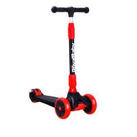 優貝滑板車兒童2-3-4-6歲寶寶小孩溜溜車滑滑車發光輪一鍵折疊