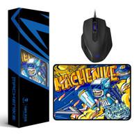 百亿补贴:MACHENIKE 机械师 M1 电竞游戏USB鼠标+鼠标垫