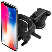 艾歐提(iOttie)車載手機支架手機座 伸縮型吸盤式 黑色 適用三星/華為/小米/蘋果等手機寬度5.8-8.9cm