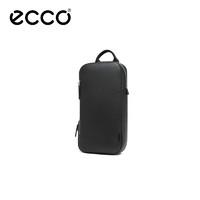 ECCO愛步真皮胸包男 時尚青年斜挎包男 埃德系列9105278