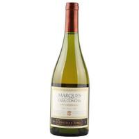 智利進口葡萄酒Concha y Toro干露侯爵夏多內白葡萄酒750ml *6件