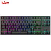 ikbc F400  87鍵  機械鍵盤 有線鍵盤 游戲鍵盤  RGB背光 cherry軸