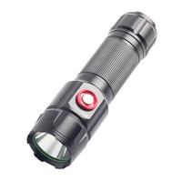 魔鐵/MOTIE 26650強光LED戶外手電筒 超亮防水防身充電遠射 迷你騎行戶外應急手電S38