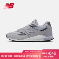 New Balance NB官方2019新款男鞋女鞋840系列運動休閑鞋ML840AF 灰色 ML840AF 40.5