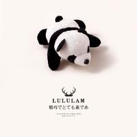 Lulu 趴趴小熊貓小恐龍胸針
