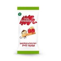 小皮树莓草莓香蕉玉米棒泡芙15g/袋 7个月以上 无添加糖盐 *3件