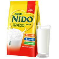 临期品:Nestlé 雀巢 Nido 速溶全脂高钙奶粉 900g *2件