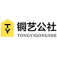 铜艺公社 TYGS-001 狮子头大门拉手 30cm 黄铜色
