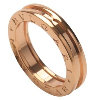 BVLGARI 宝格丽 B.ZERO 1系列 AN852422-53 18K玫瑰金戒指