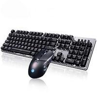 HP 惠普 G260游戏鼠标 GK100机械键盘 电竞游戏键鼠套装
