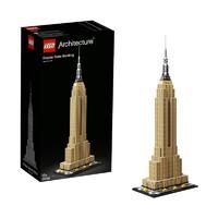 考拉海购黑卡会员:LEGO 乐高 建筑系列 21046 帝国大厦