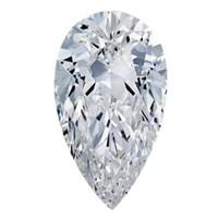 Blue Nile 0.75克拉 梨形钻石(切工VG,成色E,净度IF)