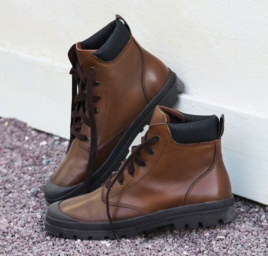 J.ZAO 京东京造 100007698608 男士系带短靴