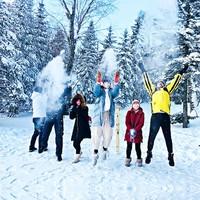 东北大环线,纯玩不购物!哈尔滨-雪乡+长白山北坡+万科滑雪场+雾凇岛7天6晚纯玩跟团游