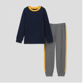UNIQLO 优衣库 儿童Ultra Stretch休闲套装(长袖) 422143